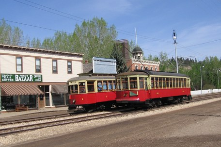 Image highlighting the museum Edmonton Radial Railway Society